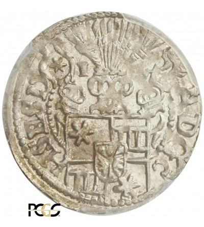 Schleswig-Holstein-Schauenburg 1/24 talara (Grosz) 1600 - PCGS MS 62
