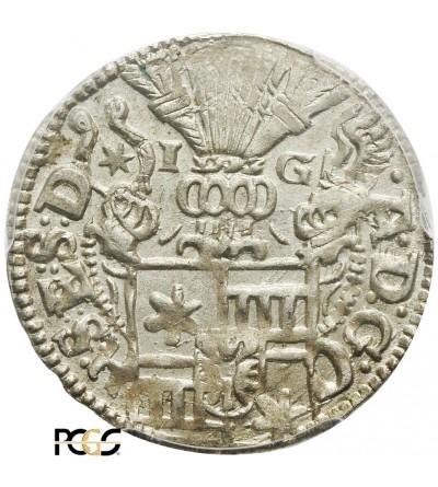 Schleswig-Holstein-Schauenburg 1/24 talara (Grosz) 1601 - PCGS MS 63