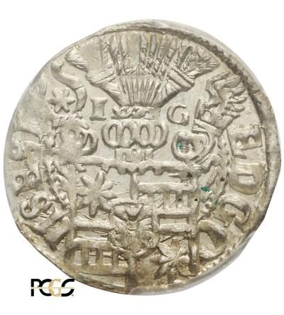 Schleswig-Holstein-Schauenburg 1/24 talara (Grosz) 1602 - PCGS MS 63