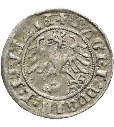 Półgrosz litewski 1511, Wilno