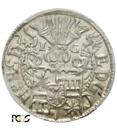 Schleswig-Holstein-Schauenburg 1/24 talara (Grosz) 1602 - PCGS MS 64