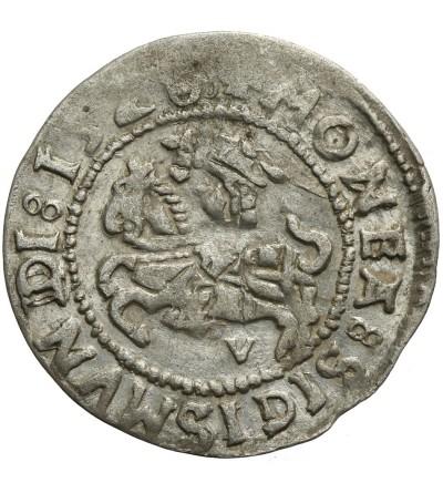 Lithuanien Half Grosz 1528 V, Vilnius mint