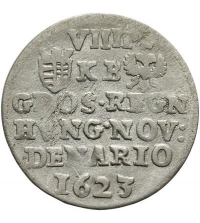 9 denarów (grosz) 1623 KB, Kremnica