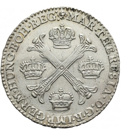 1/2 Kronentaler 1767, Brüssel