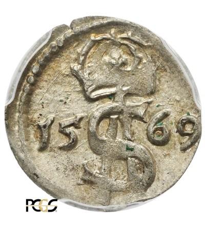 Dwudenar 1569, Wilno - PCGS MS 62