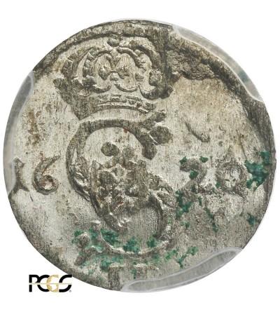 Dwudenar 1620, Wilno - PCGS UNC Details