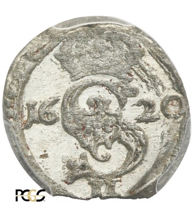 Dwudenar 1620, Wilno - PCGS UNC MS 63