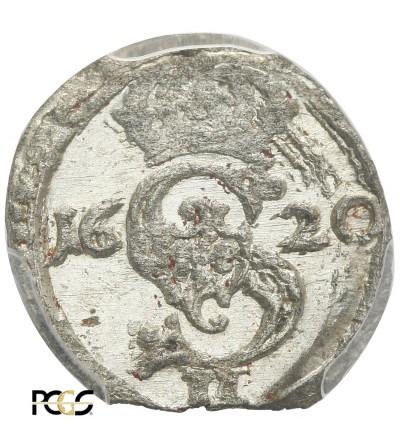 Dwudenar (2 Denars) 1620, Vilnius mint - PCGS MS 63