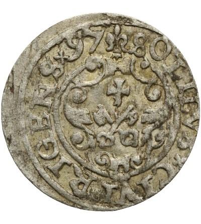 Szeląg 1597 Ryga