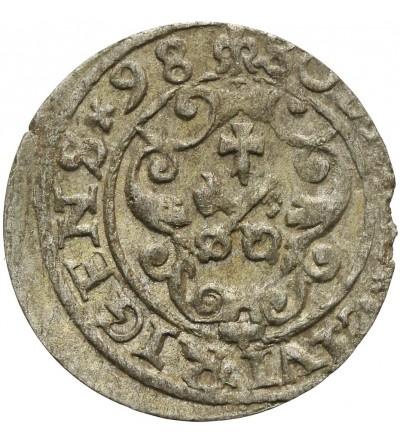Szeląg 1598 Ryga