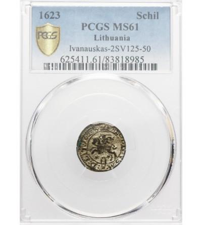 Szeląg 1623, Wilno - PCGS MS 61