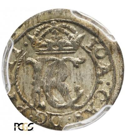 Shilling (Szelag) 1653, Vilnius mint - PCGS MS 62
