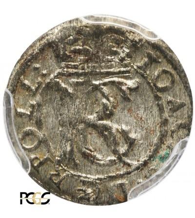 Shilling (Szelag) 1653, Vilnius mint - PCGS MS 63