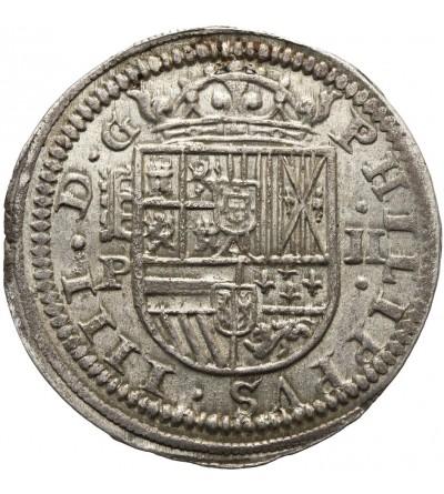 Spain 2 Reales 1628 P, Segovia