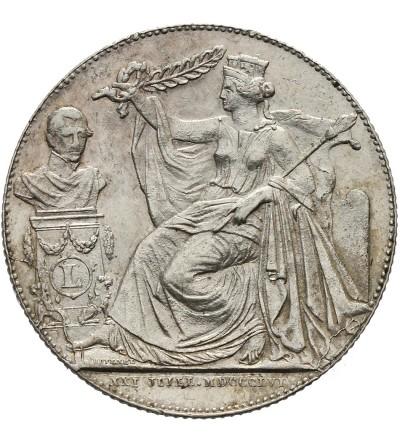 Belgia 2 franki 1856, 25-lecie panowania