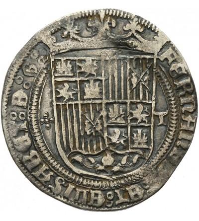 Hiszpania 1 real  bez daty (1474-1504), Toledo