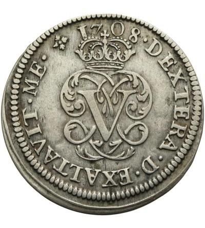 Hiszpania 2 reale 1708 Y, Segovia