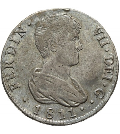 Hiszpania 4 reale 1811 V SG, Jose Napoleon