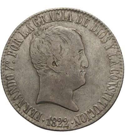 Hiszpania 20 reali 1822