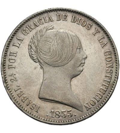 Hiszpania 20 reali 1855