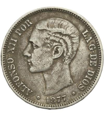 Hiszpania 5 pesetas 1877