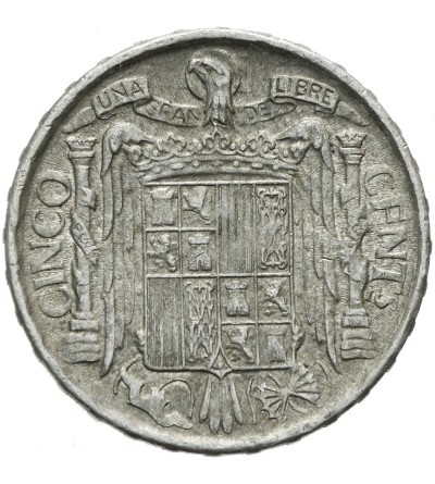 Hiszpania 5 centimos 1941