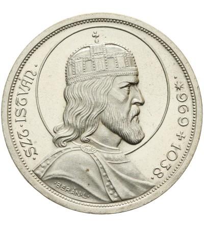 Węgry 5 pengo 1938, Św. Stefan