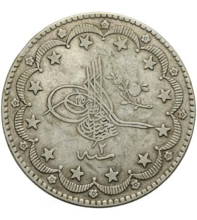 Turkey 20 Kurush 1293/2 AH / 1877 AD