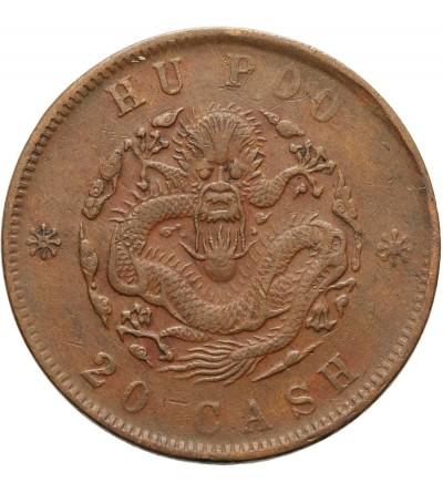 China Chingkiang 20 Cash ND (1903)