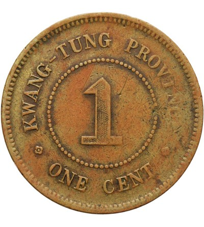 Chiny Kwangtung 1 cent, rok 5 (1916)