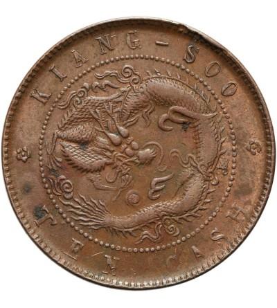 Chiny Kiang-Soo 10 cash 1905