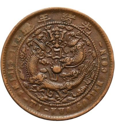 Chiny Kiangnan 10 cash 1907