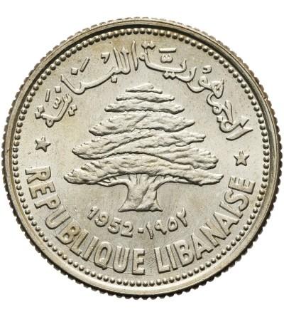 Liban 50 piastrów 1952