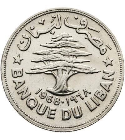Liban 1 Livre 1968 F.A.O.