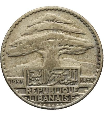 Liban 10 piastrów 1929