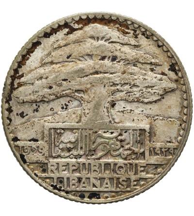 Liban 25 piastrów 1929