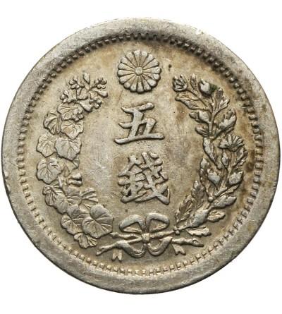 Japonia 5 Sen rok 6 / 1873 AD. Typ I