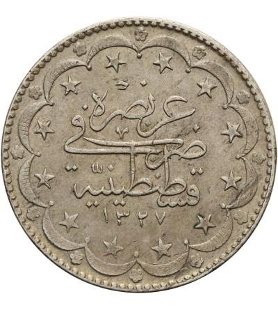 Turcja 20 Kurush AH 1327/9 / 1917 AD
