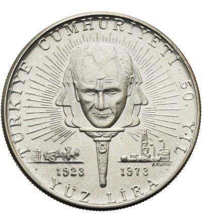 Turcja 100 lira 1973