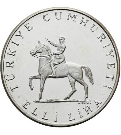 Turcja 50 lira 1972