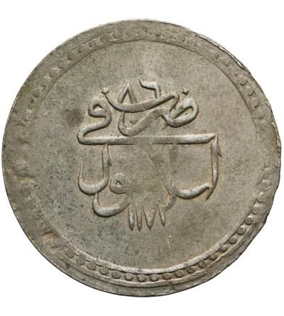 Turcja Piastre AH 1171/86 / AD 1772, Mustafa III