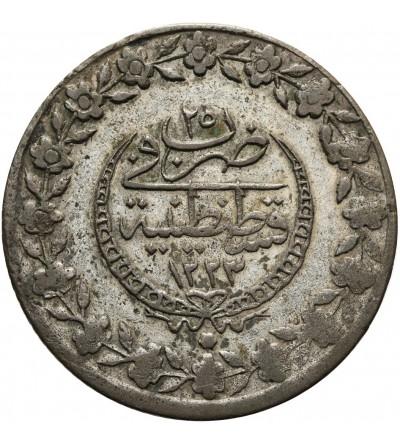 Turcja 5 Kurush AH 1223 rok 25 / 1832 AD, Mahmud II