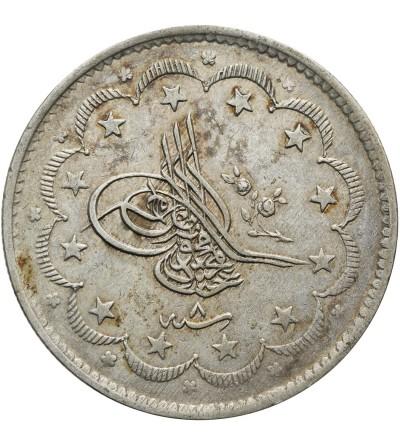 Turcja 20 Kurush AH 1255 rok 8 / 1845 AD, Abdul Mejid