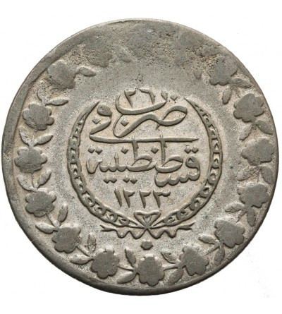 Turcja 5 piastrów 1223 AH / 1808 AD