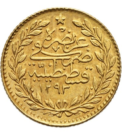 Turcja 25 Kurush AH 1293/ 34 - AD 1909