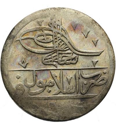 Ottoman Empire. Turkey Yuzluk (2 1/2 Kurush) AH 1203 Year 8 / 1796 AD, Selim III
