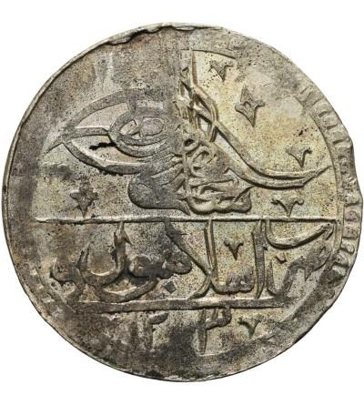 Ottoman Empire. Turkey Yuzluk (2 1/2 Kurush) AH 1203 Year 13 / 1801 AD, Selim III