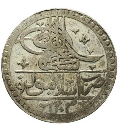 Turkey Yuzluk ( 2 1/2 kurush ) 1203 rok 4 AH / 1793 AD