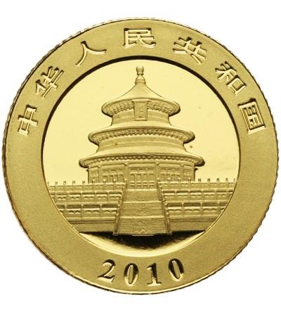Chiny 50 yuan 2010 (Au 1/10 Oz .999)