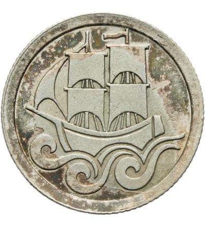 Wolne Miasto Gdańsk 1/2 guldena 1927